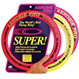 Aerobie Pro Flying Ring, Soft Rubber Edged, 13 Inch Diameter (3 Pack)