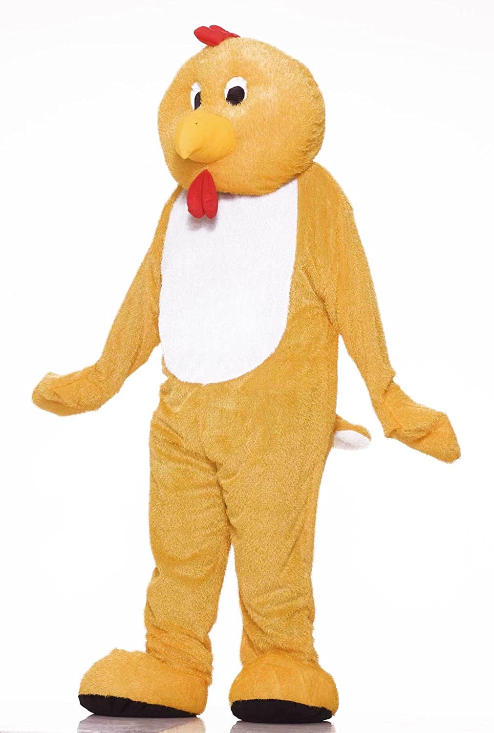professional  yellow  CHICKEN SUIT COSTUME mascot party  new costumes YELLOW