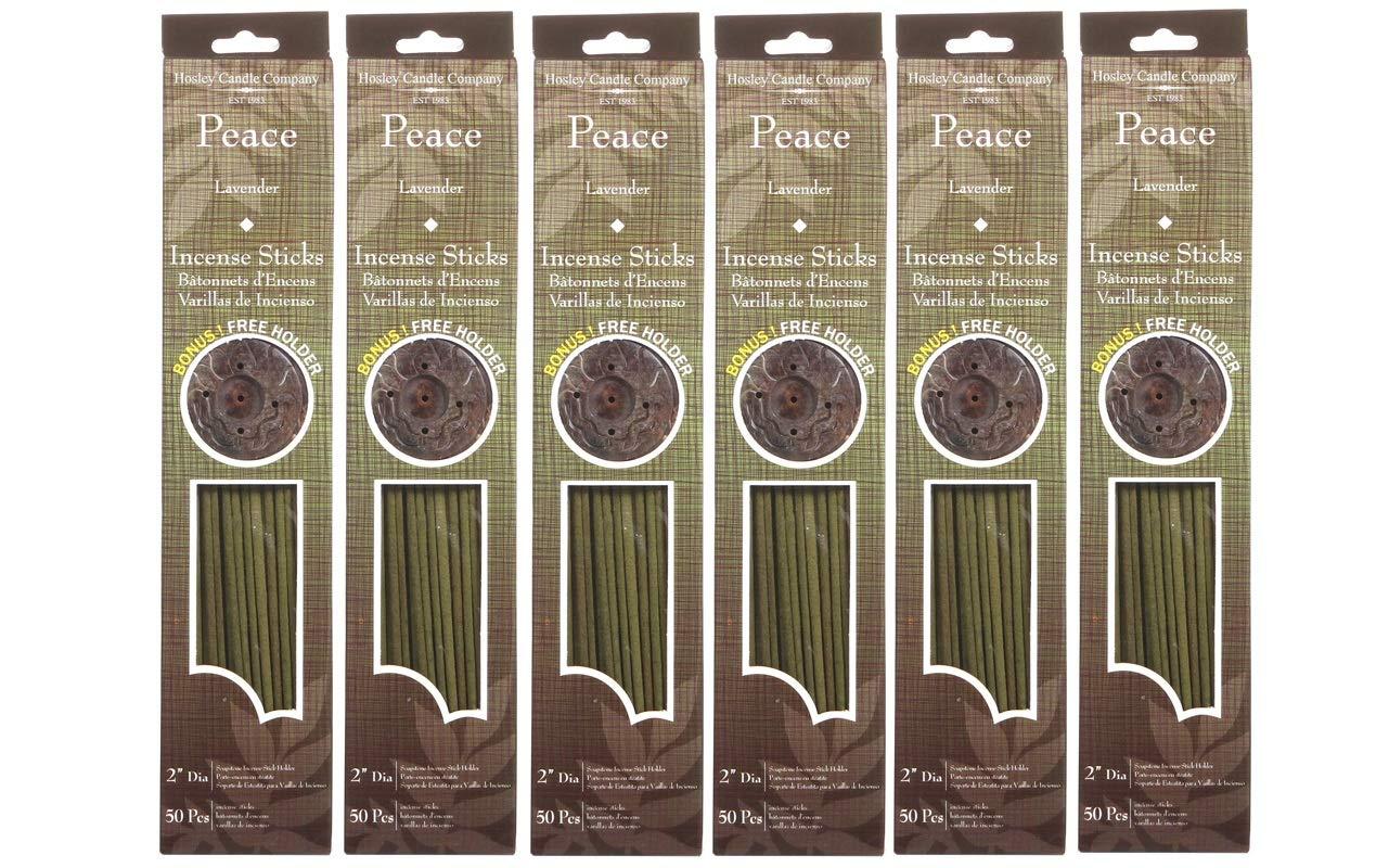 値引 Hosleyのラベンダー(平和) Incense Sticks。Infused Sticks Highly Fragranced Incense withボーナスホルダー、300 Highly B00NY1219A Incense Sticks。Infused With Essential Oils。理想的なギフトや結婚式、Spa ,レイキ,瞑想設定o7 B00NY1219A, 越路町:5771222b --- arianechie.dominiotemporario.com