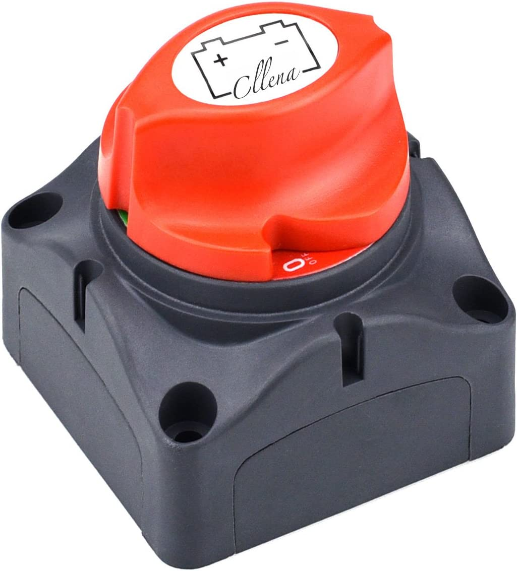 Cllena Battery Disconnect Switch for Marine Boat Car Rv ATV Vehicles: Automotive