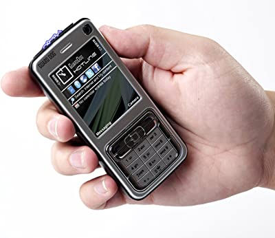 Guard Dog Hotline Cell Phone Stun Gun with LED Flashlight