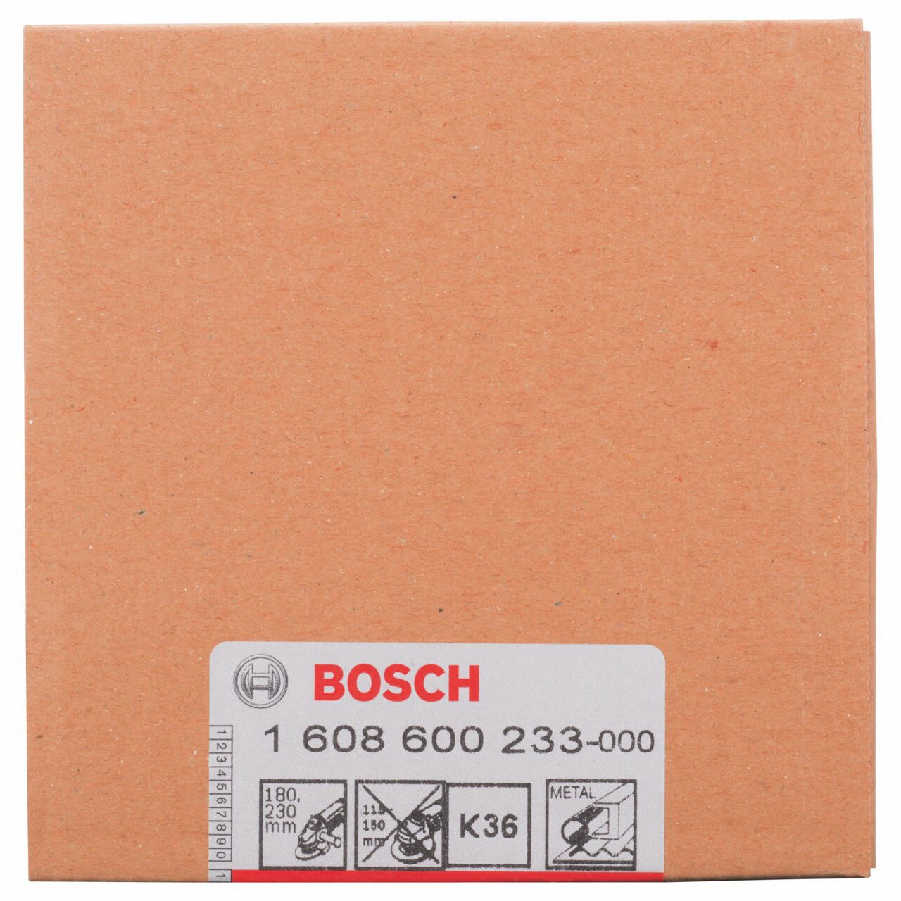 Bosch 1608600233 Abrasive Cup Wheel 4.33inx55mm K36 C /& J Direct GmbH /& Co KG