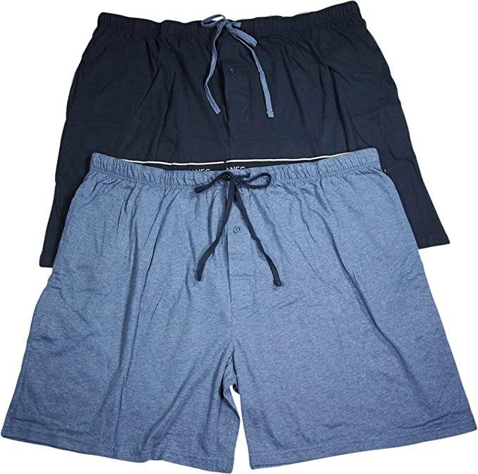 hanes men's knit shorts