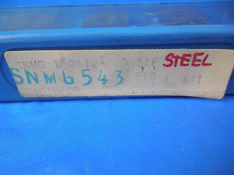 10 PCS SECO SECODEX SNMG 543 INSERTS MACHINIST TOOLING S1F P10 CNC ...
