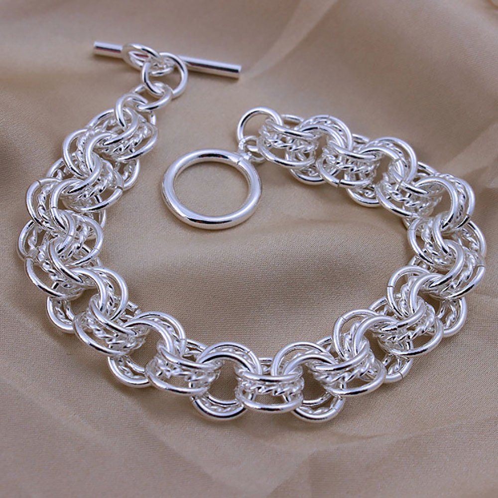 Ginger Lyne Collection Alicia Beautiful Large Chain Bracelet