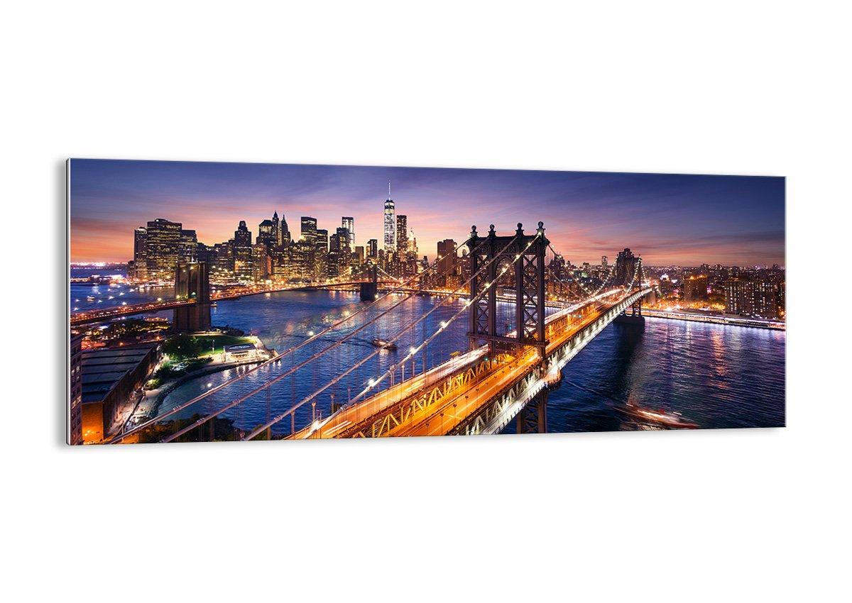 Quadro su vetro - elemento unico - larghezza: 90cm, altezza: 30cm - numero dell'immagine 2820 - pronto da appendere - Arte digitale - Moderno - Quadro in vetro - GAB90x30-2820 ARTTOR