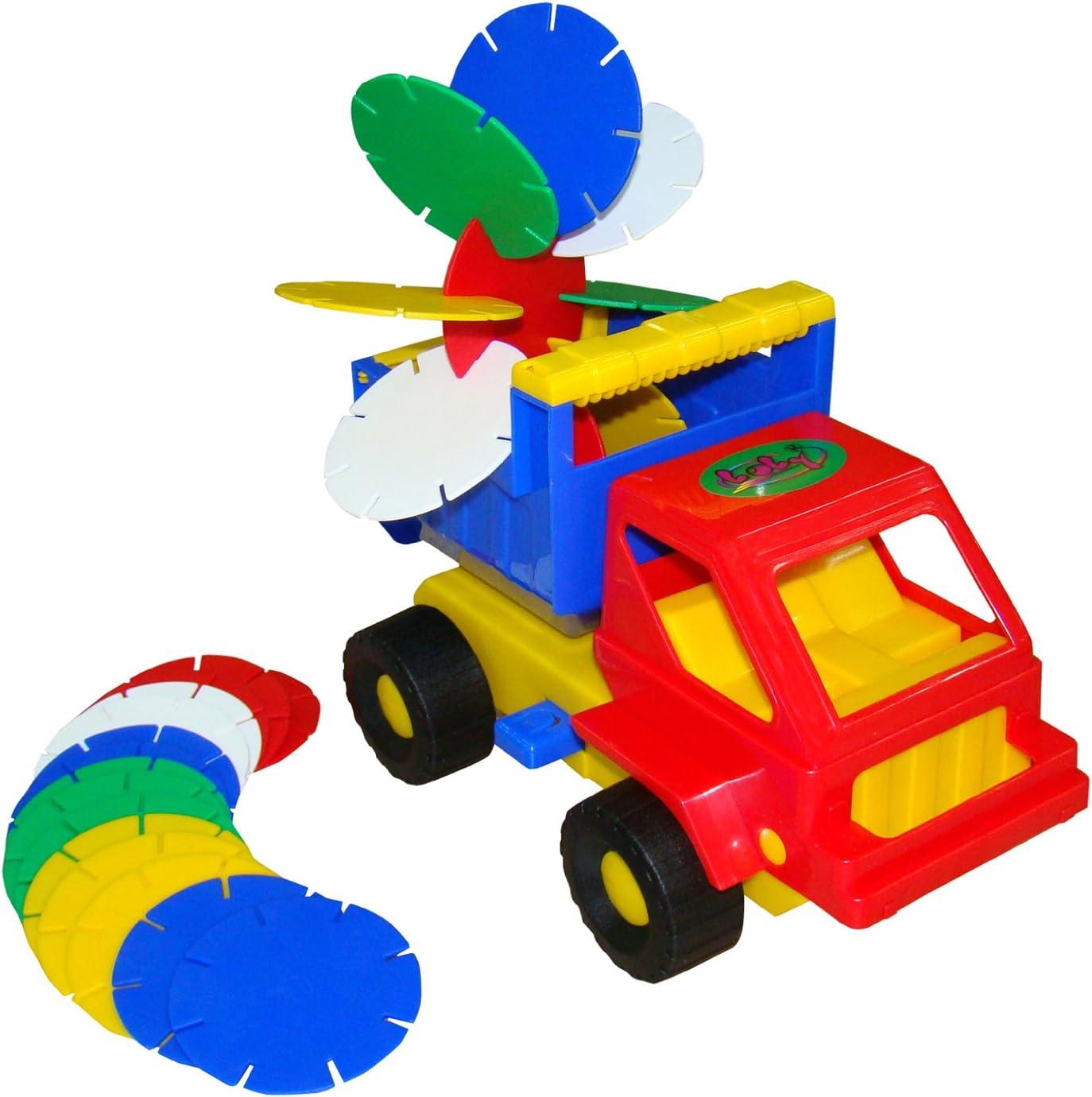 Multi-Color Polesie Polesie1306 17 Garden Toy and Bucket Set