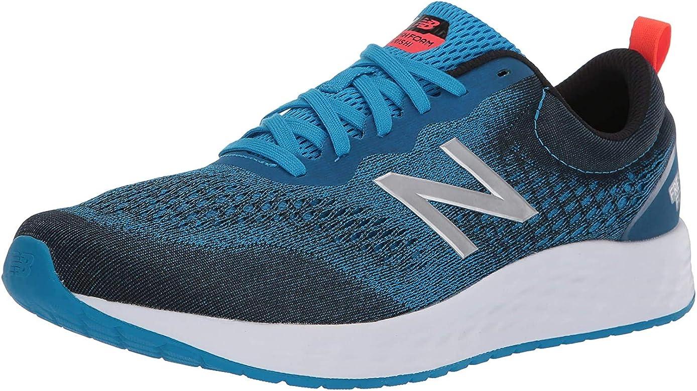 Zapatilla de correr New Balance Fresh Foam Arishi V3 para hombre, Azul (Visión Azul/Alpha Naranja), 40 EU: Amazon.es: Zapatos y complementos