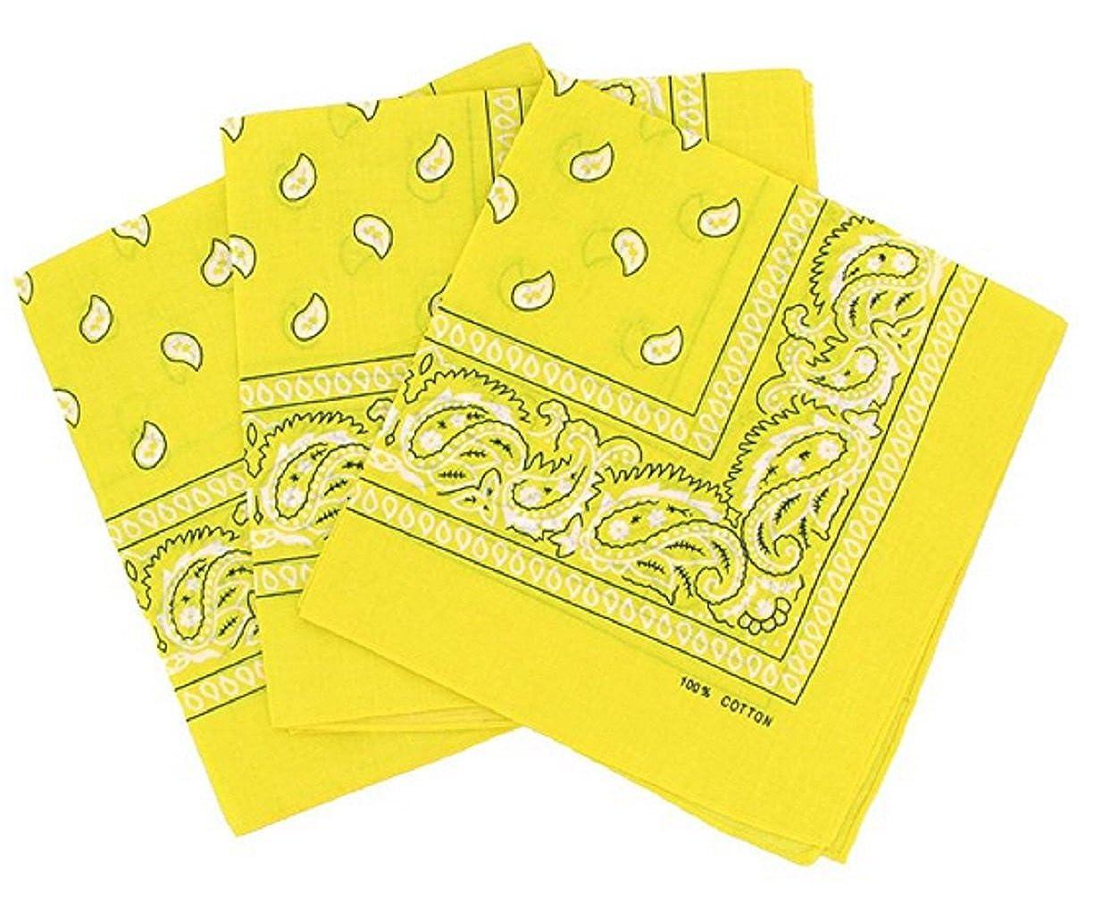 PURECITY© Bandana Original Paisley Motif Cachemire Foulard Pur Coton  Qualité Supérieure Vendu par Lot - 55cm x 55 cm - Nouvelle Collection Blanc  Rouge) 5c826e193ae