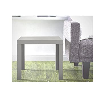 Contemporary industrial furniture Custom Image Unavailable Amazoncom Amazoncom Farmhouse End Table Rustic Industrial Square