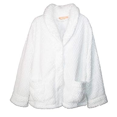 c448928cc6a La Cera Women s Button Front Bed Coat Blue at Amazon Women s ...