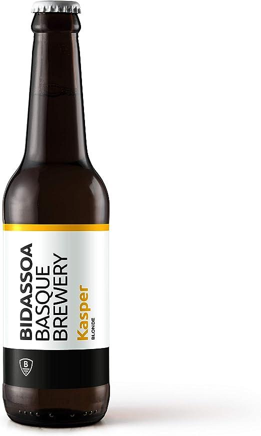 Cerveza BIDASSOA. Pack Black & White: caja de 12 botellas 33cl ...