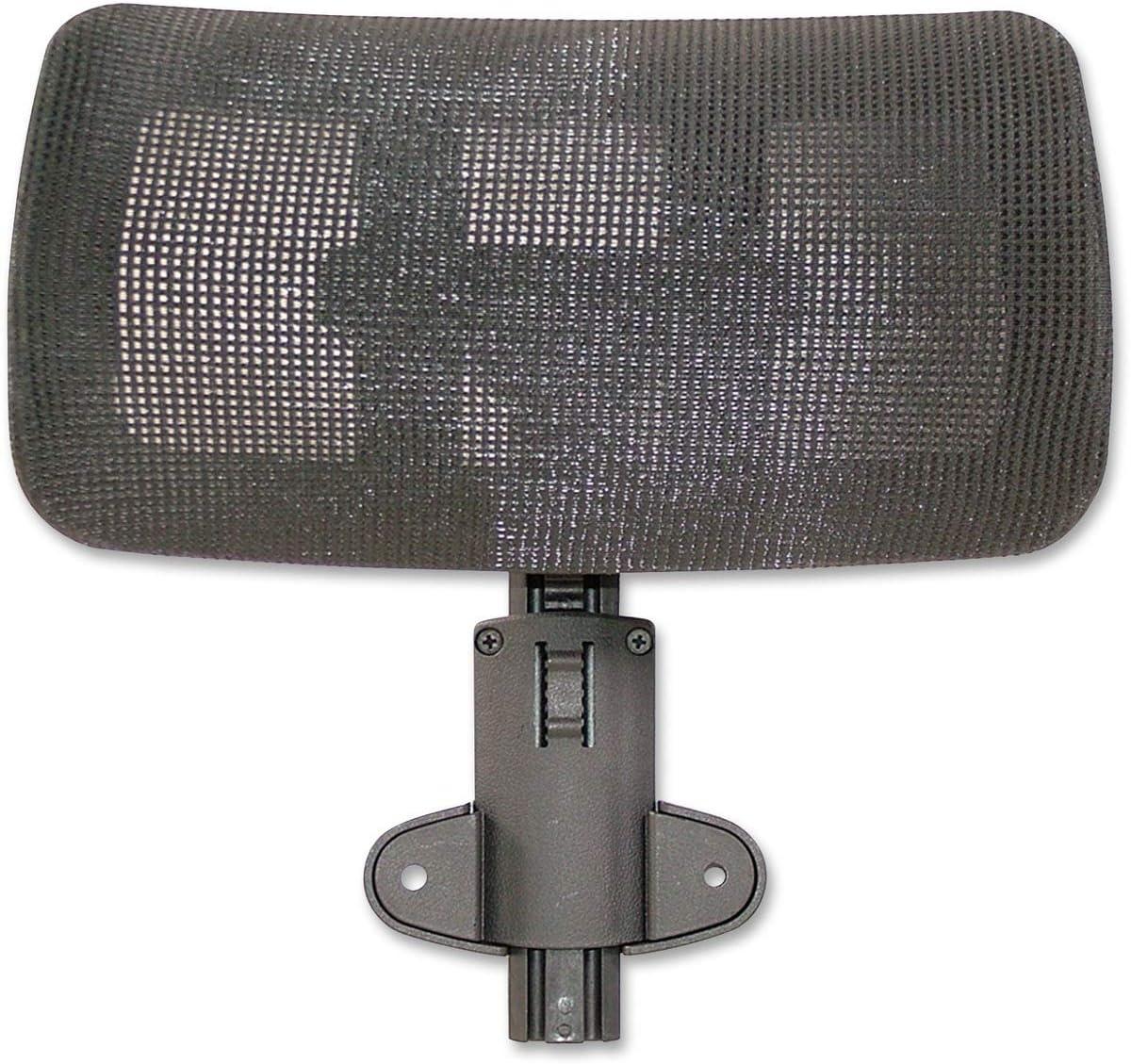 Lorell Hi-Back Chair Mesh Headrest, Black – LLR85562 3