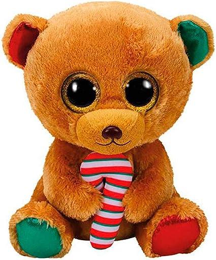 TY - Beanie Boos Bella, Osito Navidad, 40 cm (United Labels Ibérica 37254TY): Amazon.es: Juguetes y juegos