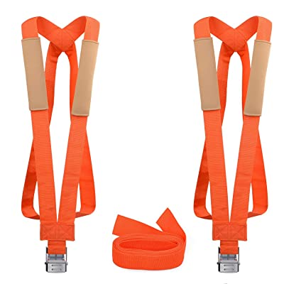 GOOACC moving straps 13Feet Lifting Straps 2 Person Moving Shoulder Harness Lifter Aid with Foam Pad, Carry Bag Max Load 600 Pound: Arts, Crafts & Sewing