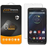 Motorola Droid Turbo Tempered Glass Screen Protector, Supershieldz Ballistics Glass 0.3mm 9H Hardness Featuring Anti-Scratch, Anti-Fingerprint, Bubble Free -Crystal Clear - Retail Packaging