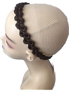 ce553874f5240f PRETTYSHOP Zopf Haarteil Haarband Stirnband Haarschmuck geflochten div.  Farben HZ9-2