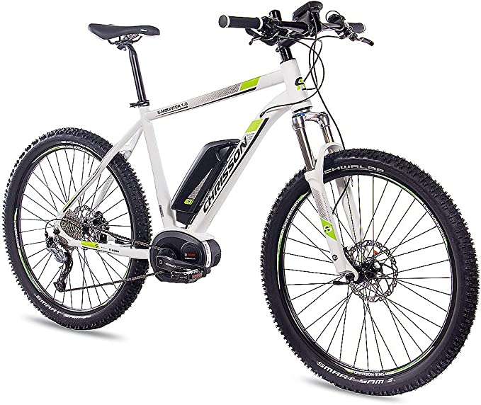 CHRISSON 27,5 aduanas E-Bike Mountainbike Bosch - E-Mounter 1.0 ...