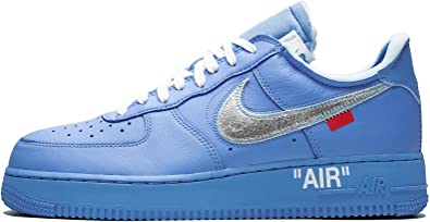 Amazon Com Nike Air Force 1 Low Blue Baby Blue Basketball