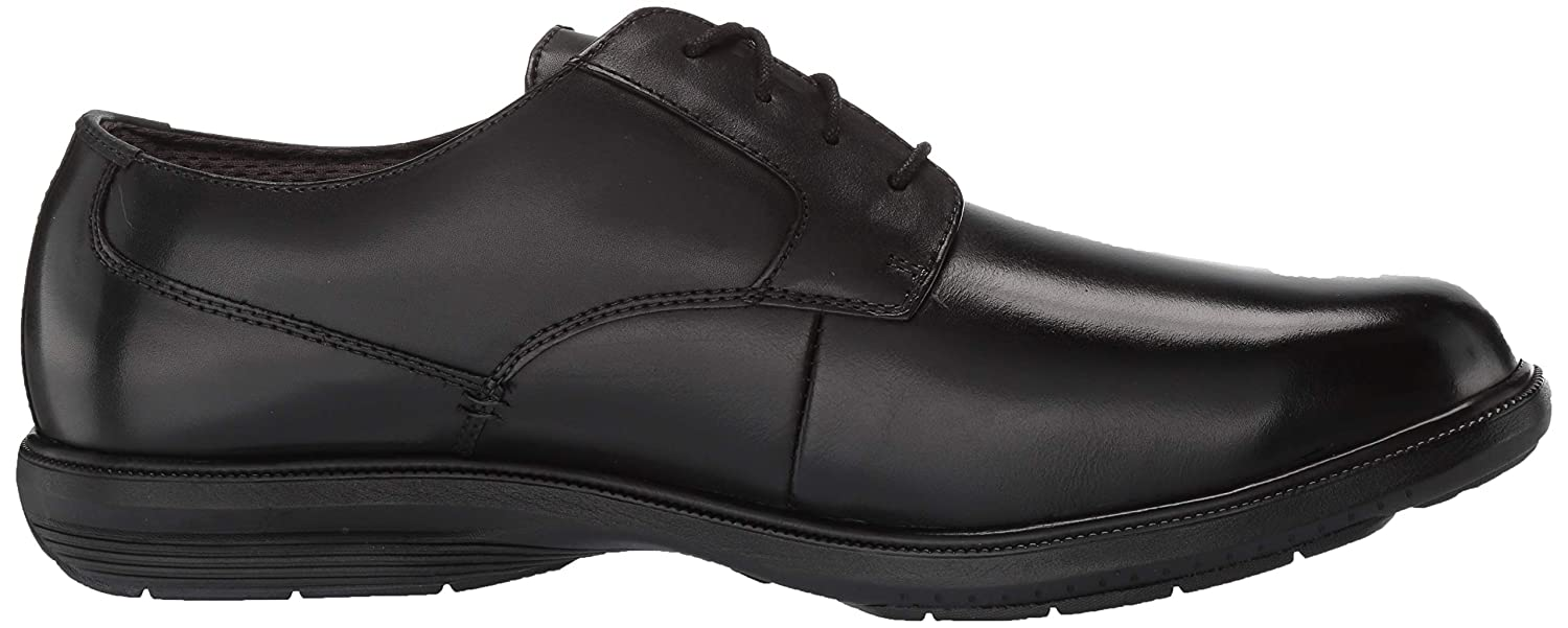 Nunn Bush Mens Messina Plain Toe Oxford with Kore Slip Resistant Comfort Technology