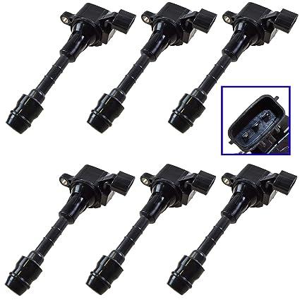 Amazon.com: Ignition Coils Kit Set of 6 for Nissan 350Z Infiniti G35 M35 FX35: Automotive