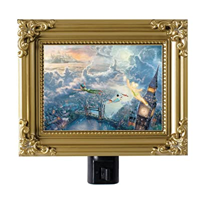 Tinker Bell and Peter Pan Night Light by Thomas Kinkade - - Amazon.com