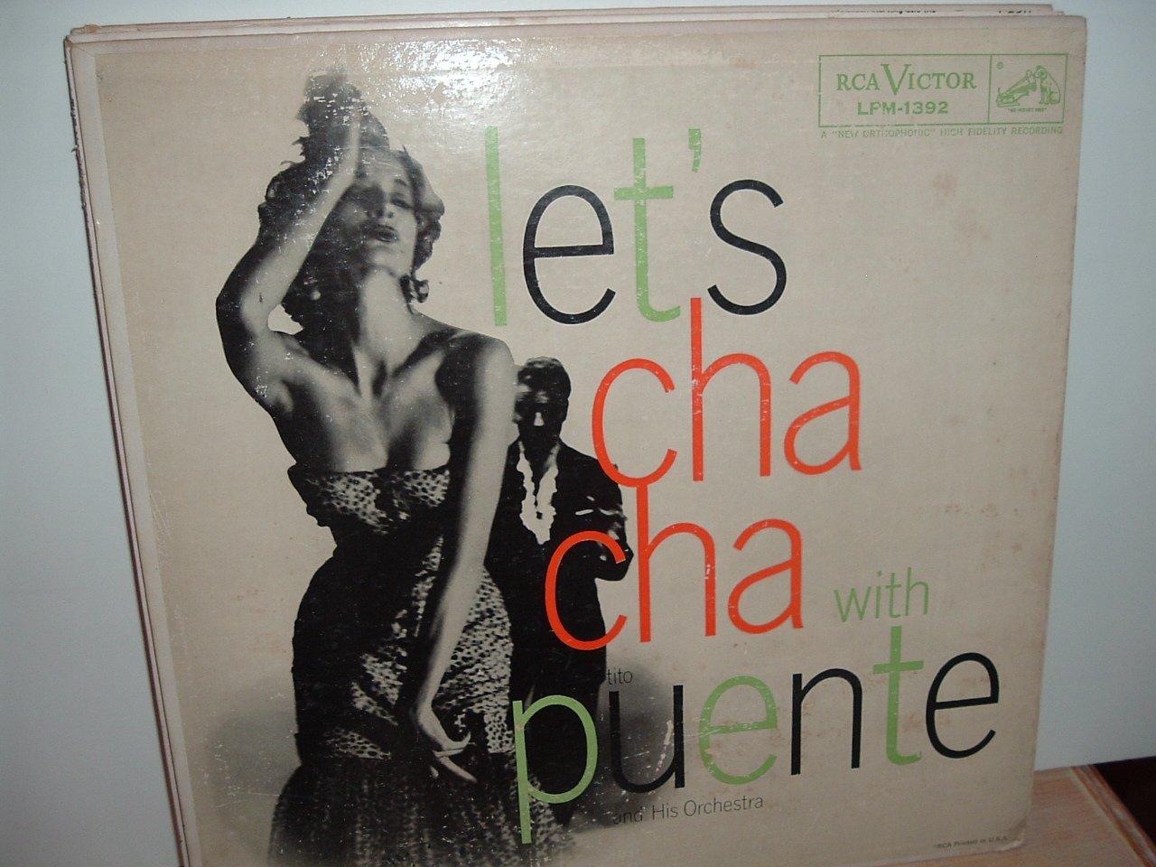 Tito Puente - Let's Cha Cha Cha With Puente - rare 1957 RCA vinyl LP.