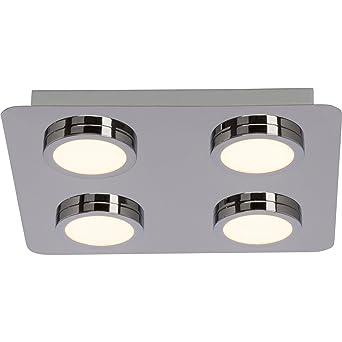 Badezimmer LED Deckenleuchte, IP44 Spritzwassergeschützt, 4x 5W LED ...