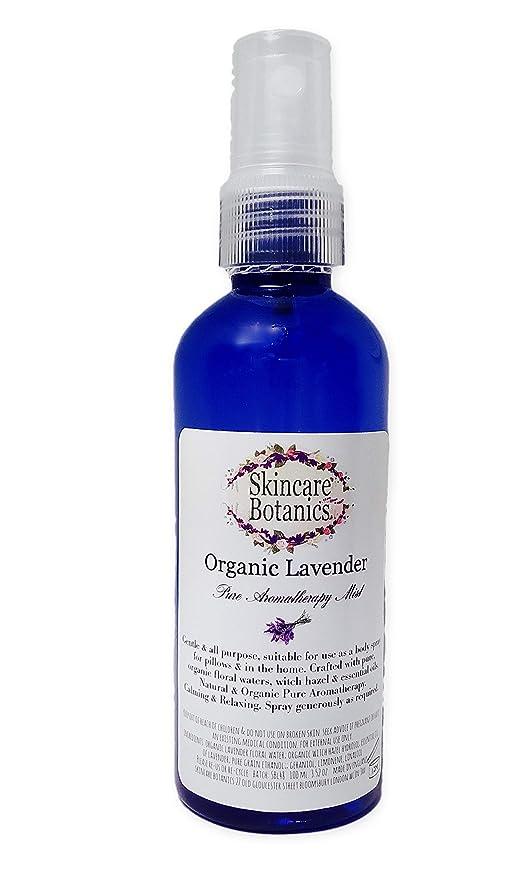 Spray para aromaterapia de lavanda orgánica completamente natural; para habitaciones, almohadas y