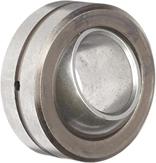 Sealmaster COR 12 Spherical Plain Bearing, Two-Piece, Corrosion-Resistant, Unsealed, 3/4' Bore , 1-7/16' OD, 3/4' Inner Ring Width, 19/32' Outer Ring Width
