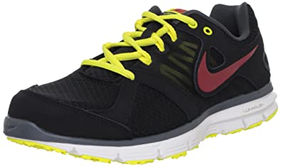 318013624105 NIKE New Lunar Forever 2 Blk Yellow Red Mens 10