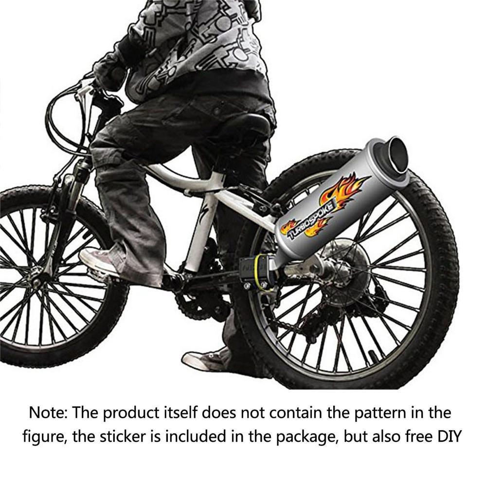 Leo565Tom V/élo de v/élo Syst/ème d/échappement Turbo pour Moto Son d/échappement Six Sortes de Moto Wild Son v/élos Accessoires Jouet Cadeau pour Enfants Adultes