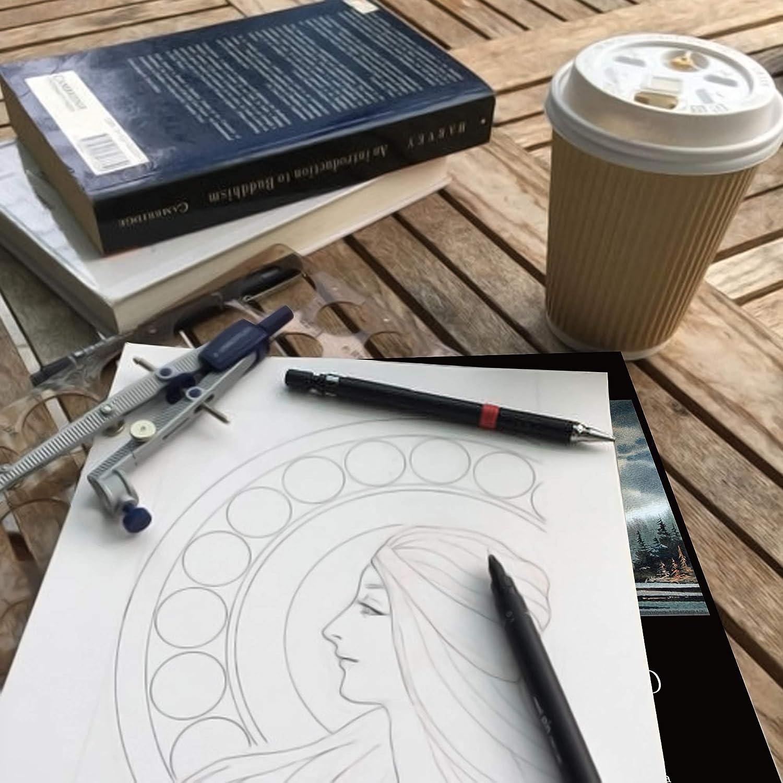 Eachgoo Bloc Acuarela para Pinturas Acuarelas 30 Hojas A4 Cuadernos de Acuarela Papel Para Principiantes y Artistas