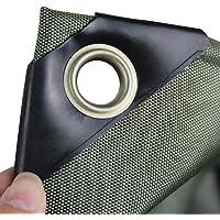 HHM Lona Verde, Lona de Tela revestida de PVC para Sol y Lluvia, Impermeable, Durable, Resistente al desgarro, Lonas Resistentes al envejecimiento