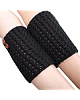 Coromose® 2015 Women Knitted Hollow Out Twill Leg Warmers Socks