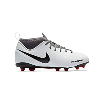 047ed275e5c NIKE JR Hypervenom Phantom Vision Club DF MG Soccer Cleat (Pure Platinum) ( 1Y