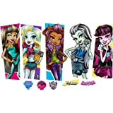 Monster High Large Characters Wall Decal Set 2