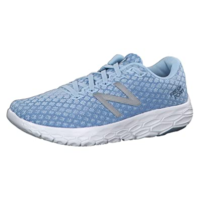 fbdc83477c3a6 New Balance Women's Fresh Foam Beacon Running Shoe, Size: 9.5 Width: B  Color: Air Blue