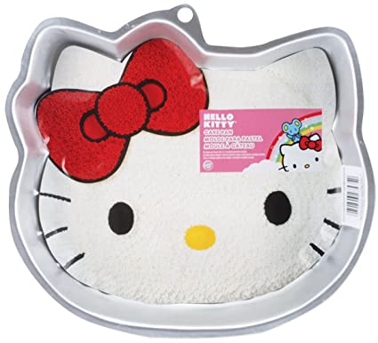 Amazoncom Wilton Hello Kitty Character Cake Pan Novelty Cake Pans