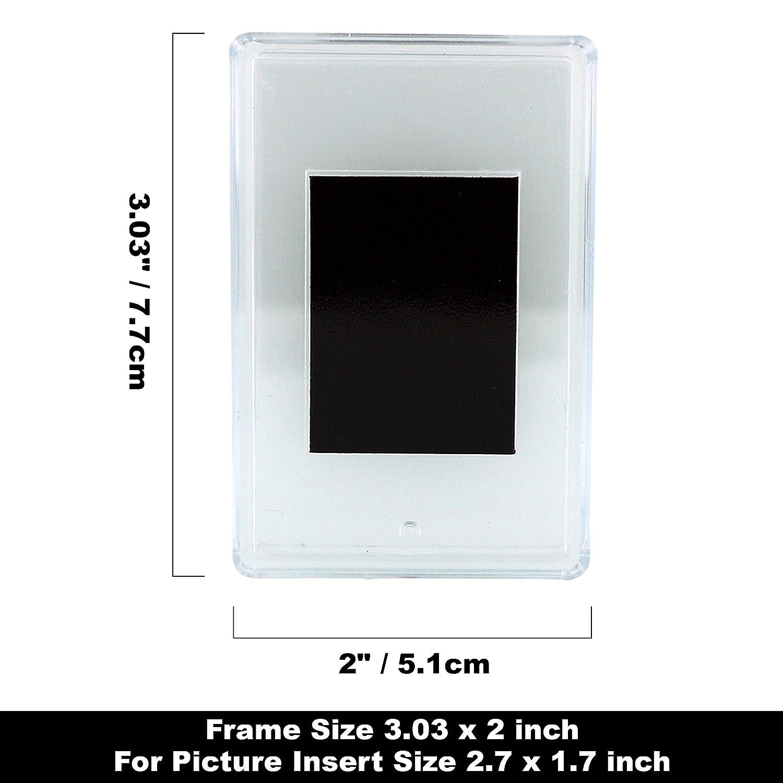 Amazon.com: Pack de 20 de fotos en blanco imanes de nevera ...