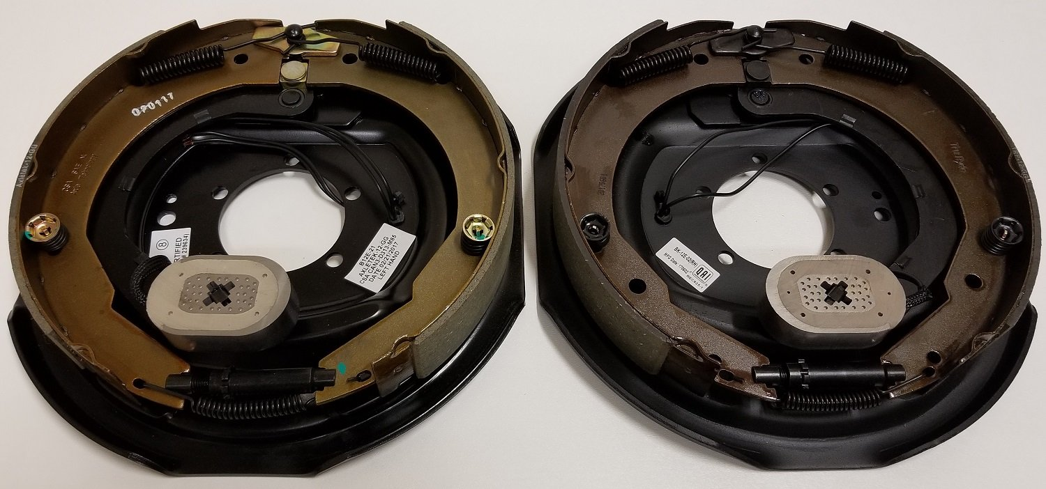 Pair of Libra 12'' x 2'' Trailer Electric Brake Assembly for 5200-7000lbs Axle