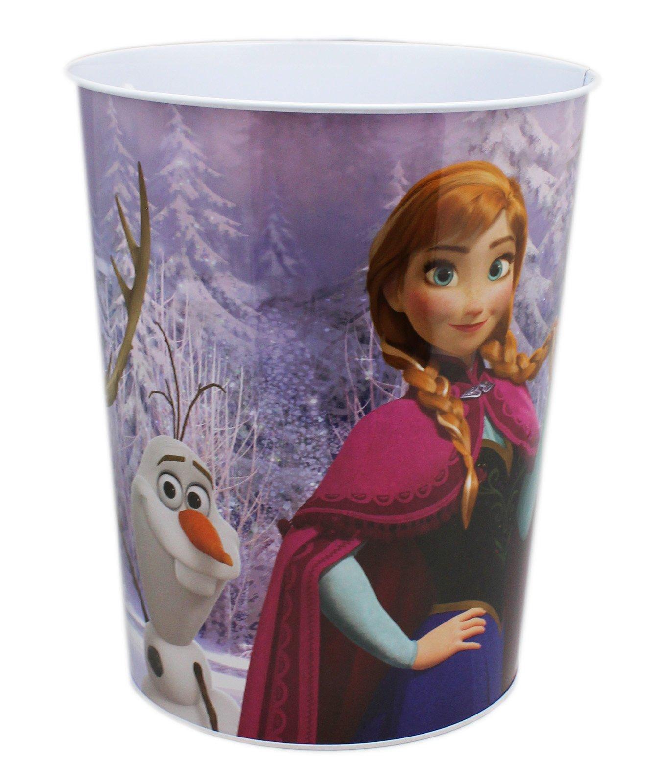 Disney's Frozen Decorative Tin Single Room Trash Can