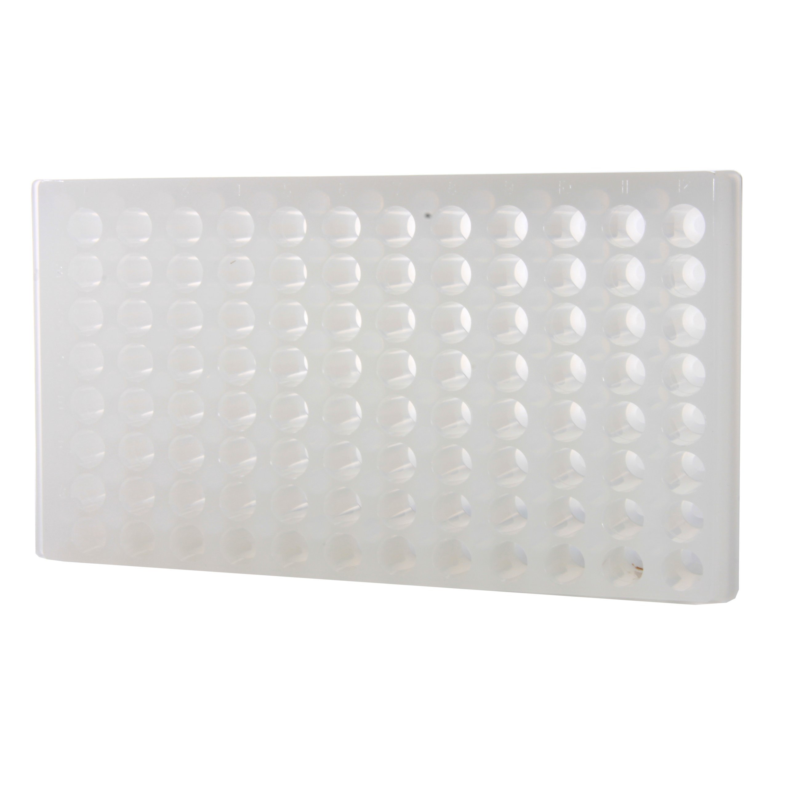 Bio Plas 0090 Polypropylene 96 Well Reversible Microcentrifuge Tube Rack, Autoclavable, Natural (Pack of 5)