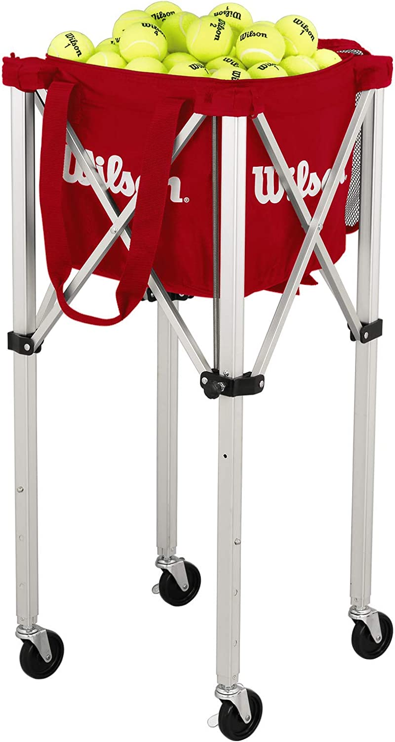 Wilson Teaching Cart Carrito para Pelotas, Unisex Adulto, Multicolor, NS