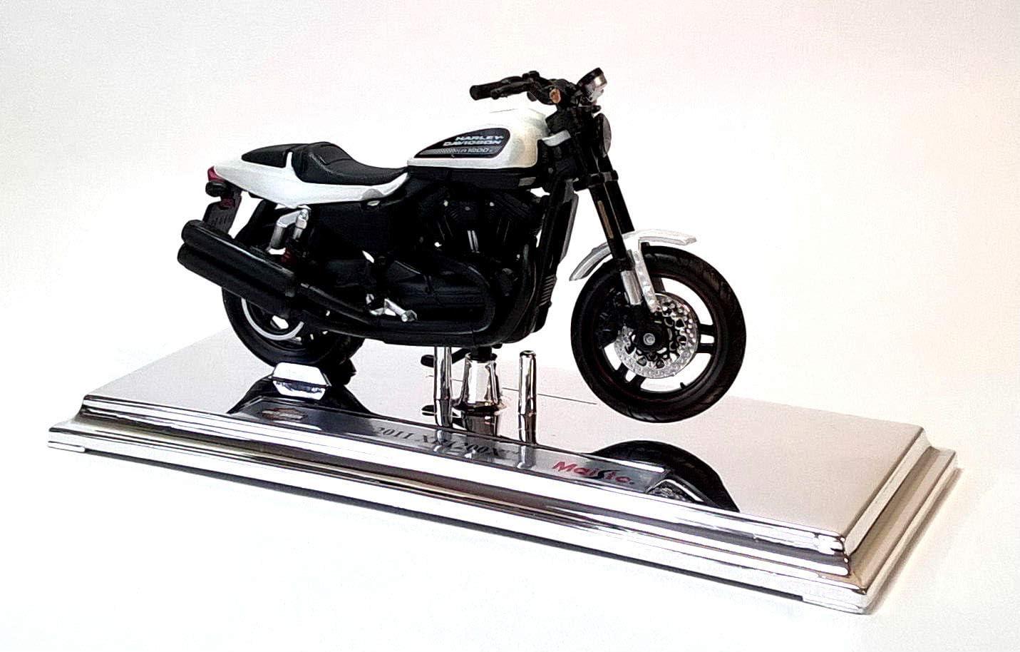 Fertigmodell mattschwarz 2011 Maisto 1:18 Harley Davidson XR1200X Modellauto