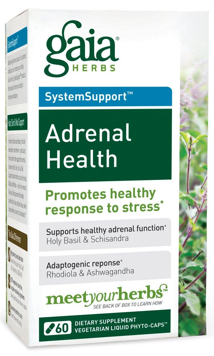 Gaia Herbs Adrenal Health LP caps 60 ( Multi-Pack)