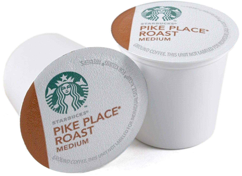 Starbucks Pike Place Roast Medium Roast Coffee Keurig K-Cups, 160 Count