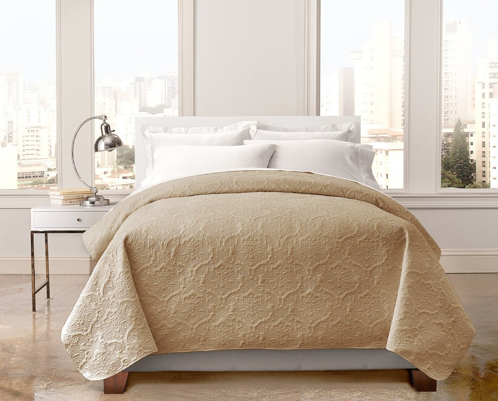Regal Home Bedspreads - Quilts with Modern Box Stitch Design