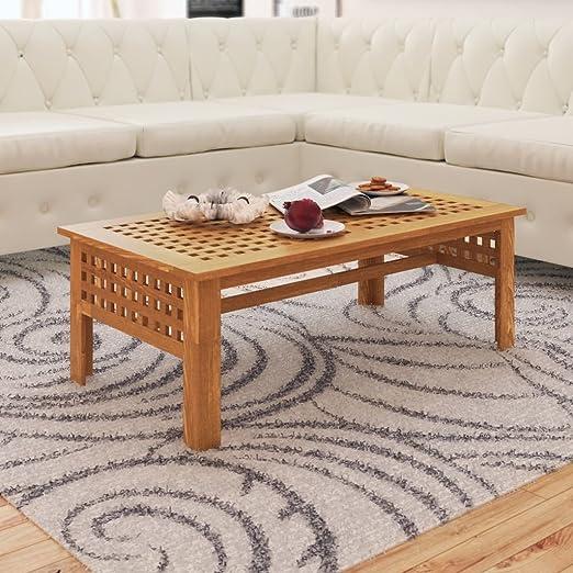 Mesa de Centro,Madera maciza, mesa de sofá,centro de mesa ...