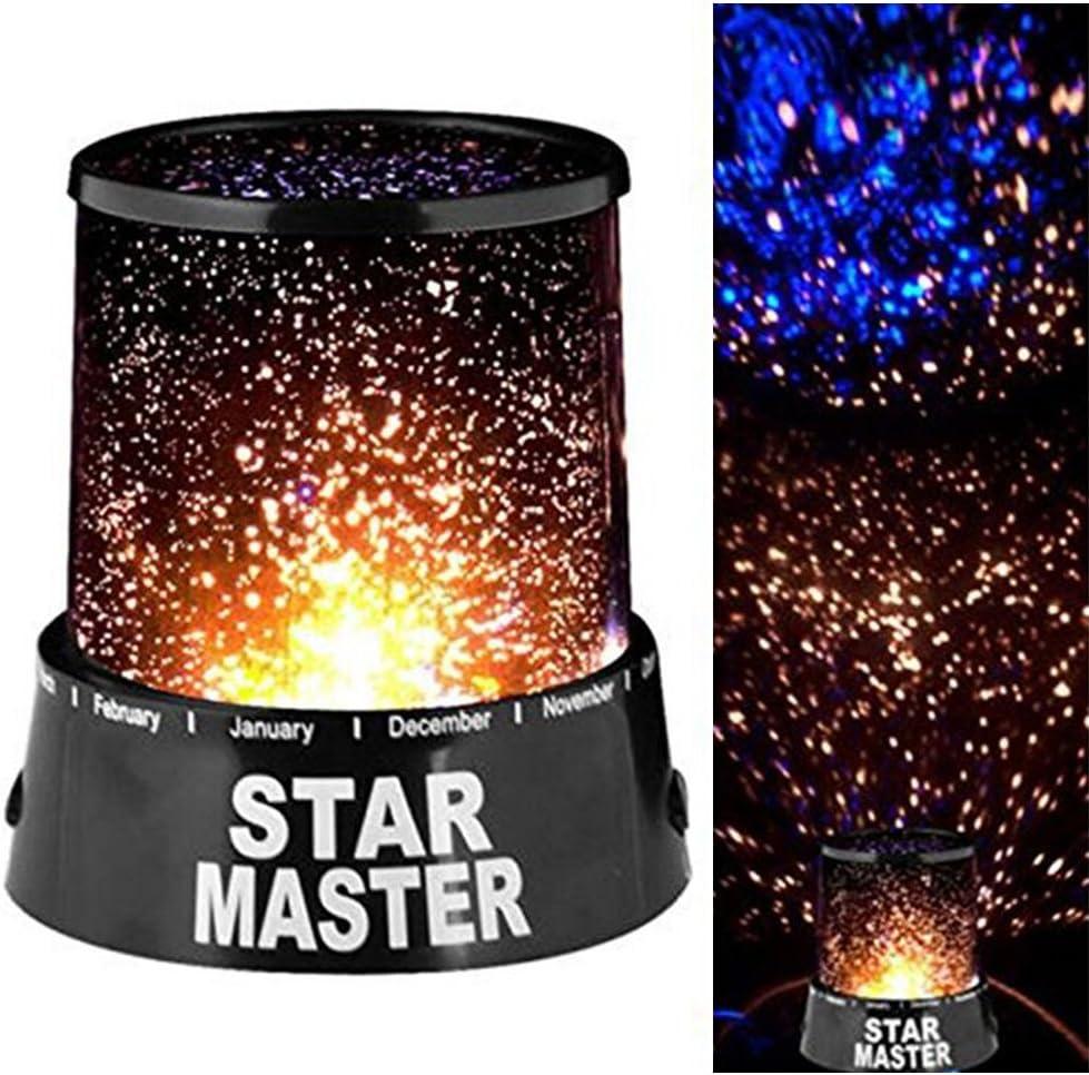 Skitic Proyector de Estrellas LED Star Master efecto cielo ...